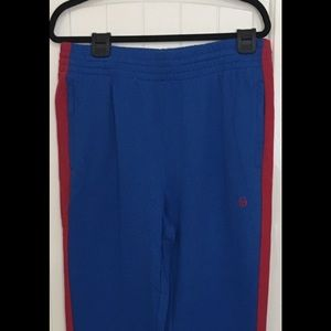 Sergio Tacchini Cuffed Sweatpants NWT Blue/Red XL
